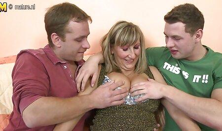 Milf porno hablado en español de tetas peludas paja