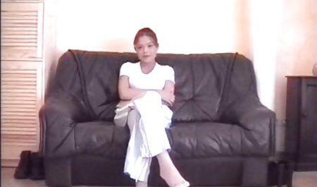 Adolescente nerd Aubrey James en su primera videos cumlourder audición porno